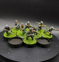 Painted 28mm Bolt Action Ww2 German Grenadier Squad #4 ×8 Men