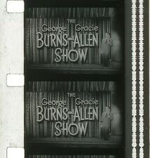 "BURNS & ALLEN SHOW ""Misery Loves Company"" 16mm ORIG sound TV SHOW B&W 1957"