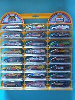 MIRA Expositor 24 coches 1/64 en blister individual completo in box en caja car