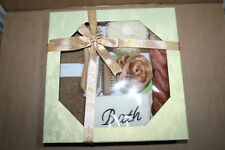 8pc Bath set Gift box Bath Shower Set Best Gift box for Friends New Home Flat