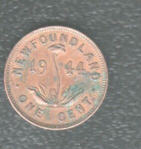 NEWFOUNDLAND 1 CENTS 1944