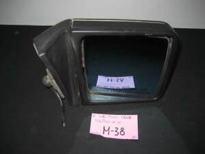 Mercedes-benz W126 300SD 300SE right side view mirror black 126 810 14 16