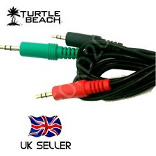 Chat Adapter PC Cable Kit for 2.5 mm Turtle Beach & Similar Gaming Headsets.,
