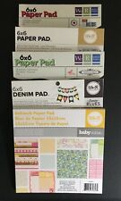 We R Memory Keepers 6 x 6 Paper Pads Multiple Variations
