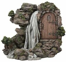 BRAND NEW ROCK WATERFALL GARDEN ORNMENT FAIRIES/PIXIES