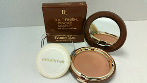 True Finish Pressed Powder Makeup By Fashion Fair Lot M FF5 Brun Rouge NEW