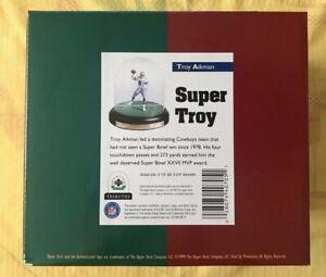 "1999 Upper Deck Tributes Troy Aikman ""Super Troy"" Figurine W/ COA NEW NIB"