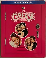 GREASE 3 MOVIE COLLECTION BLU RAY 3 DISC SET LIMITED STEELBOOK FREE SHIPPING BUY