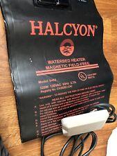 HALCYON WATERBED HEATER W/CONTROL - MODEL 6452 SOFTSIDE MAGNETIC FIELD-FREE