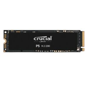 Crucial P5 250GB 500GB 1TB 2TB 3D NAND NVMe M.2 SSD Internal Solid State Drive