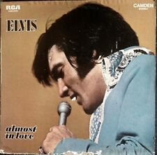 ELVIS PRESLEY-ALMOST IN LOVE-US MALE-CLEAN UP YOUR OWN BACK YARD-RCA 2440