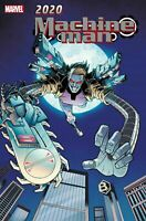 Machine Man 2020 #1 Cage Marvel Comic 1st Print unread NM