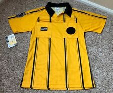 Official Sports US SOCCER REFEREE JERSEY UNIFORM  Yellow size Youth Large