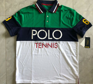 NWT POLO RALPH LAUREN Performance Men's Tech Piqué Tennis Polo Shirt