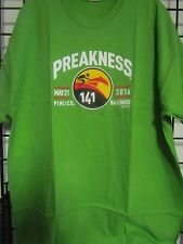 2016 PREAKNESS 141 - MAY 21 - PIMLICO - BALTIMORE  GREEN   -  SMALL LOGO SHIRT