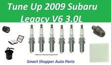 Tune Up for 2009 Subaru Legacy V6 Spark Plug, Oil Air Fuel Cabin Air Filter, PCV