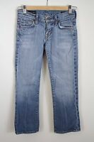 Citizens of Humanity Kelly Distressed 063 Low Waist Cropped Capri Jeans 24