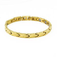 Energetix 4you 8011 Exclusive Elegant Wellness Magnet Bracelet Gold