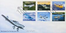 New Zealand Stamps, First Day Cover, Aircraft - dated 2/5/2001