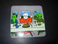 RIPNDIP Skate Sticker CAT ALIEN LAST SUPPER rip n dip skateboards helmets decal