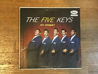 Five Keys LP - On Stage! - Capitol T828 - Uncensored Finger Cover