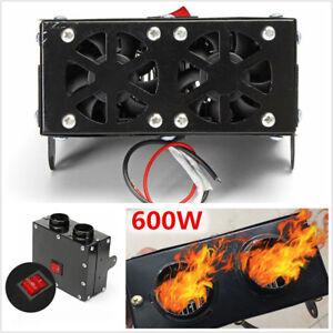 12V 600W Auto Car Truck Fan Heater Heating Warmer Windscreen Defroster Demister