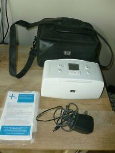 HP Photosmart 335 Compact Photo Printer with plug and earring bag! Free Shippin