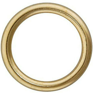 "Brass 1"" (25mm) Hollow Rings x 10 x £1.99"