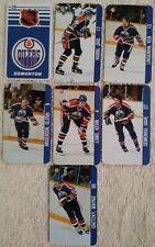 "2"" Edmonton Oilers Key Tag Mini Card Team Set 1983 Wayne Gretzky Mark Messier"