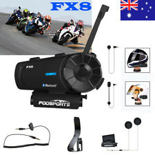 8 Riders 1000M Motorcycle Intercom Bluetooth Headset Helmet Interphone FX8 Motor