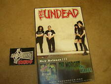 The Undead Promo Poster 2015 The Misfits W/Promo Sticker Bobby Steele< 00004000 /a>