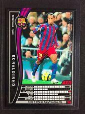 2005-06 Panini WCCF Ronaldinho Barcelona card