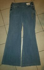 NWT New York & Company Mid Rise Skinny Flare Jeans Pants Womens Size 14 $49