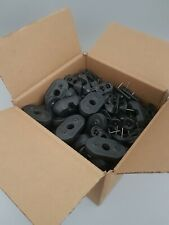 100 Security Protected Magnetic RF Double Pin Alarm Tags Clips - Retail Shop Uk