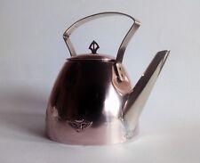 Carl (Karl) Hermann art-deco/jugendstil design copper teapot nr.2, 1910