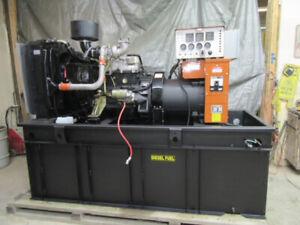40 KW DIESEL GENERATOR DAEWOO 120/240 VOLT GENERAC DWXL 3.3 LITRE GENERATOR