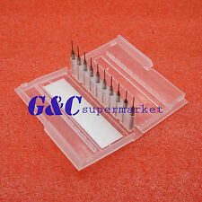 0.8mm Mini Micro Carbide steel Engraving Drill Bit PCB Press CNC Dremel