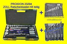 PAKET ZOLL Werkzeug RingMaul + Doppelring Schlüssel + PROXXON 23294 Nusskasten