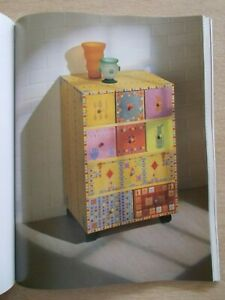 Painted Wooden Furniture~Cate Withacy~128pp P/B~Templates~Projects