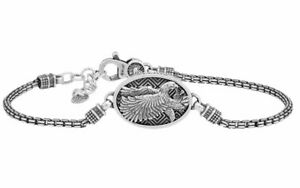 Bracciale Ellius Jewelry AQUILA IMPERIALE Artigianale Argento 925 R816/21/RV/U