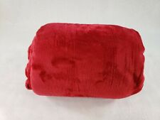 """Love's Cabin Red King Polyester Blanket Extra Soft Double Sided Size 108 X 90"""""""