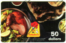 ST-HUBERT RESTAURANT Limited Ed COLLECTIBLE Gift Card New No Value 0717