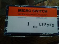 HONEYWELL  LSP3K3 LIMIT SWITCH MICRO SWITCH NEW