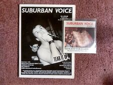 SUBURBAN VOICE #35 punk/hc zine w/ CD- TEAR IT UP*UNSEEN*LAST IN LINE*DEATHREAT