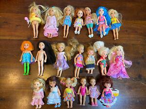 Barbie Mattel KELLY & FRIENDS DOLL LOT Of 20! All Years! Nice LOOK Barbie