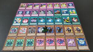 Yu-Gi-Oh Kristallungeheuer Deck - 40 Karten - Crystal Beast - Sammlung