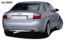 Audi A4 B6 GENUINE ZENDER REAR BUMPER INSERT for DUAL EXHAUST TIPS