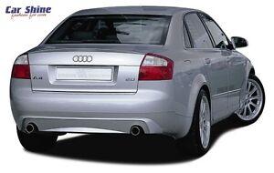 Audi A4 B6 ZENDER REAR BUMPER INSERT for DUAL EXHAUST TIPS GENUINE