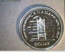1977 Canada, $1 Slv Jubilee, Throne of Senate,   High Grade Silver  (Can-349)