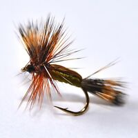 BOBS BITS ORANGE Dry Fly Trout /& Grayling fly Fishing flies  Dragonflies